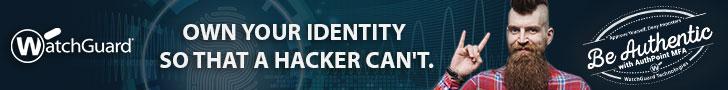WatchGuard Schutz Ihrer Identität im Internet